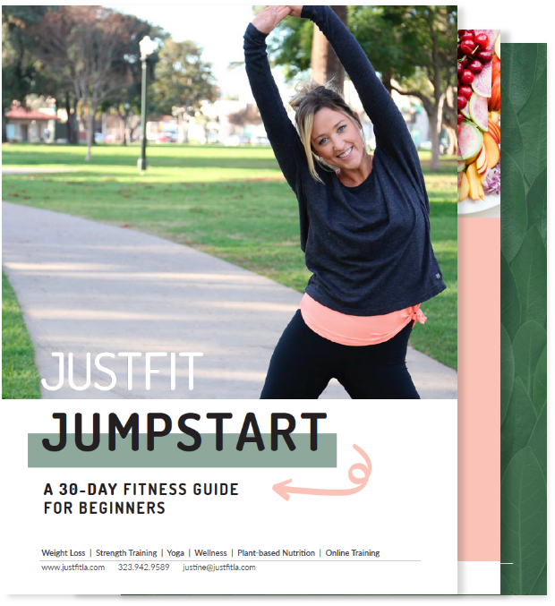 JustFit Jumpstart Fitness Guide Cover
