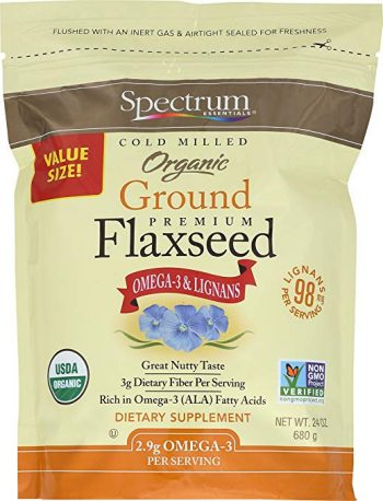 ground flaxseed plantbased product