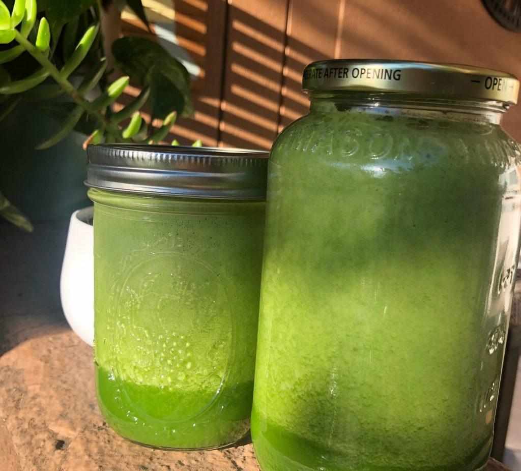 vegan green smoothie recipe