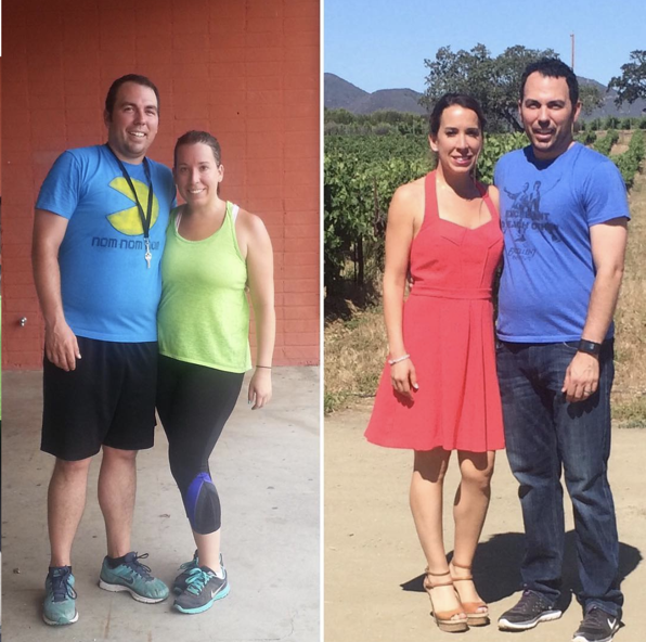 a vegan personal trainer case study before and after photos